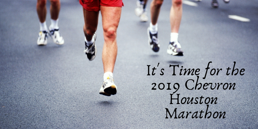 It is that time of year again Houston! Get you and your family ready for the 2019 Chevron Houston Marathon.